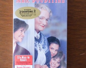 Unopened Copy of Mrs. Doubtfire on VHS