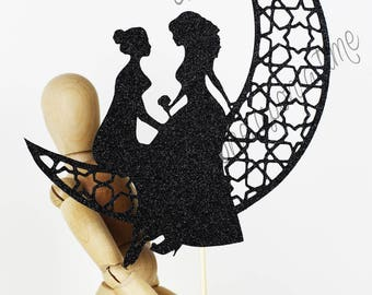 Gay Cake Topper | Gay Wedding Cake Topper | Two Woman |  Cake Topper | Gay Wedding Decor | Topper for Wedding | MADE IN AUSTRALIA