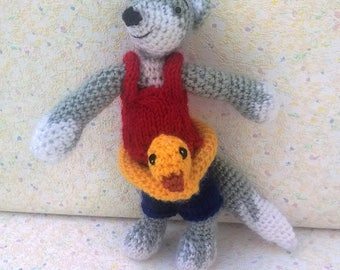 "Amigurumi Fox, ""Julius"", the Fox for the holidays"
