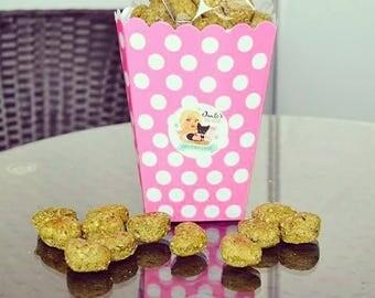 Dante's Kale Apple Mint Bites /Healthy Organic Dog Treats /Natural Pet Food /Pet Treats /Organic Dog Bakery /Crunchy Dog Cookies