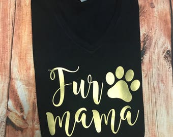 Fur mama top
