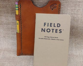 """Leather Notebook Field Notes Cover """"The Scout"""""""