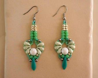 Art Nouveau Zoliduo Earrings Pattern