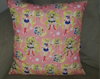 """Sailor Moon 16"""" x 16"""" Decorative Throw Pillow (insert included)"""