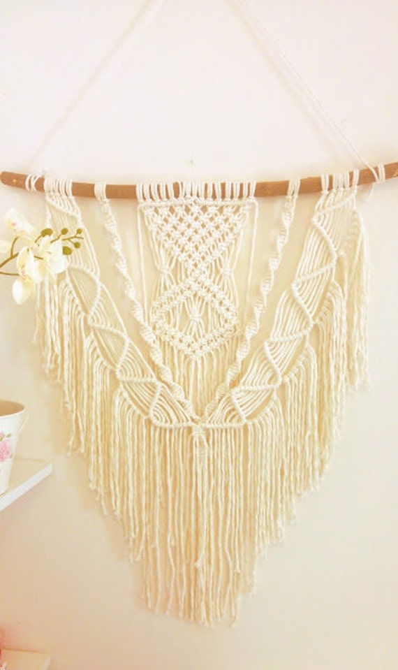 Large Macrame Wall Hanging Bohemian Macrame Wall decor
