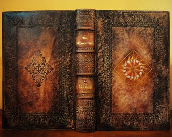 Transform your favorite book to leather bound book-The Silmarillion-leather bound Tolkien book-leather bound silmarillion book