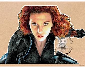 The Avenger-Black Widow-Scarlett Johansson