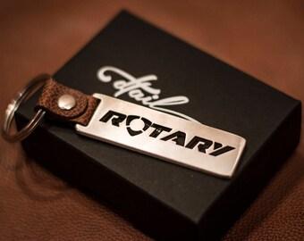 Rotary keychain