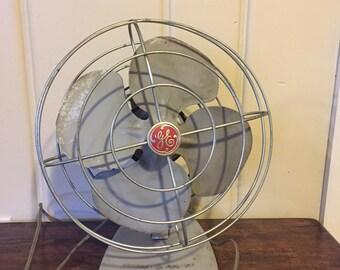 Vintage GE Metal Fan