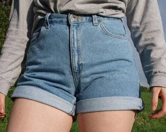 Vintage 90s High Waisted Denim Shorts