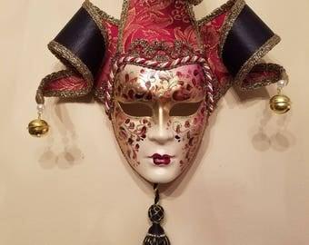 Venetian Mask Wall Decor