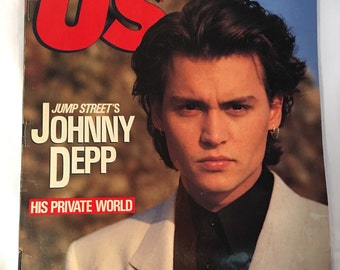 US Magazine, Johnny Depp, 1989