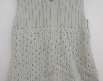 Cotton Vintage Sweater Shirt