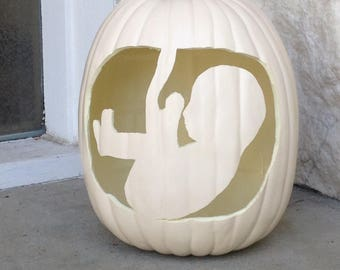Pregnancy Pumpkin Photo Prop