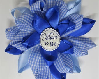 Mum To Be Baby Rosette, Mum To Be Baby Corsage, Petal Rosette, Baby
