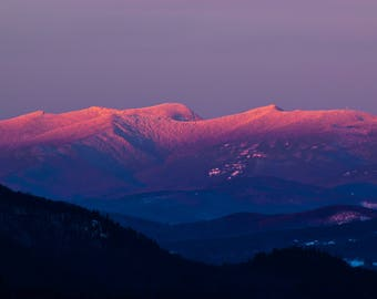 Last Light - White Mountains of New Hampshire
