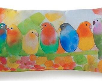 Tropical Birds Pillow Lava Pillows