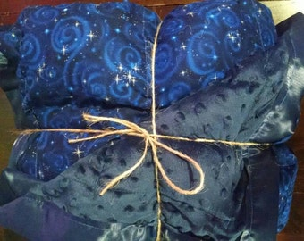 14 pound twin sized large weighted blanket sensory autism anxiety therapy ptsd insomnia adult