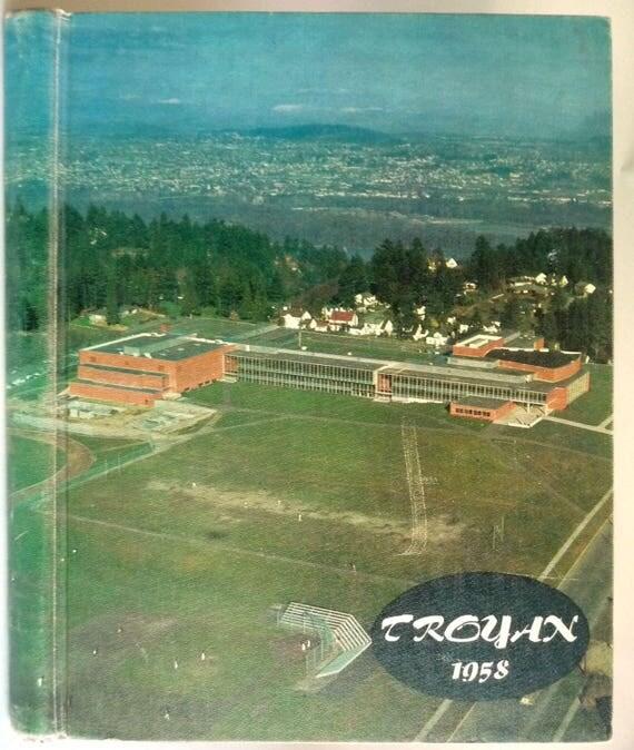 Woodrow Wilson High School Yearbook (Annual) 1958 - The Troyan - Portland, Oregon OR Multnomah County