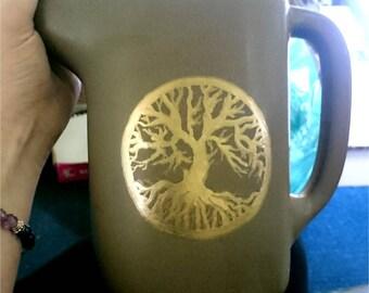 Tree of life - Ceramic Jug / Decanter