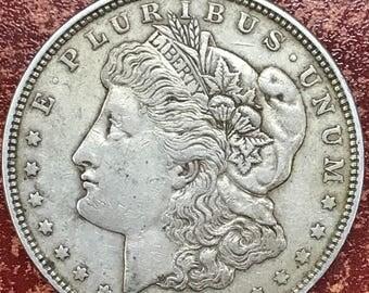 1921 Morgan Silver Dollar Coin -M235-
