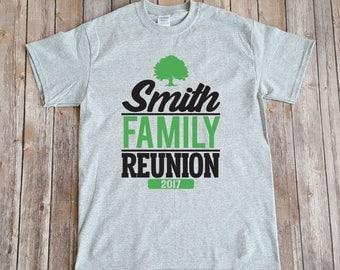 2017 Smith Family Reunion T Shirt Design, Customizable Family Reunion Design