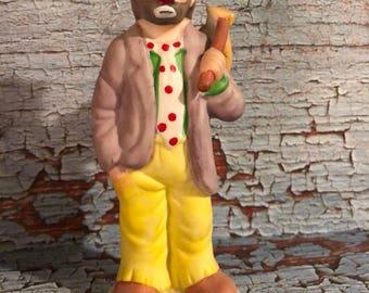"""Emmett Kelly Jr Flambro Figurine 5 1/2"""" Tall"""