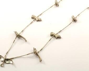 Vintage Animals Necklace 925 Sterling NC 1035