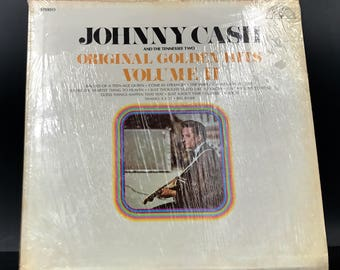 JOHNNY CASH VINYL Record - Johnny Cash And The Tennessee Two - Original Golden Hits Volume 2 - Rare Lp - Awesome Original! - Great Gift!