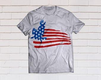 American flag svg, Eagle svg, Usa flag svg, Patriotic svg, Distressed svg, SVG Files, Cricut, Cameo, Cut file, Clipart, Svg, DXF, Png, Eps