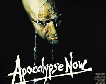 Apocalypse Now Cult Film Movie Poster Print Ford Coppola Marlon Brando A1 A2 A3 A4
