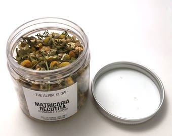 CHAMOMILE FLOWER - Apothecary Herbs - Dried Chamomile Buds - Botanicals - Chamomile Water - Bath Tea - Facial Steam - 4 OZ