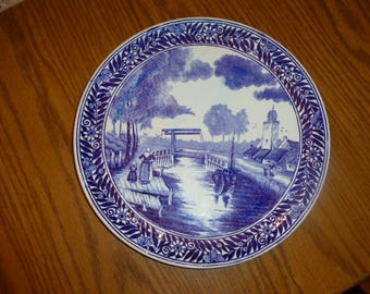 Delft Blue  Wall Plate