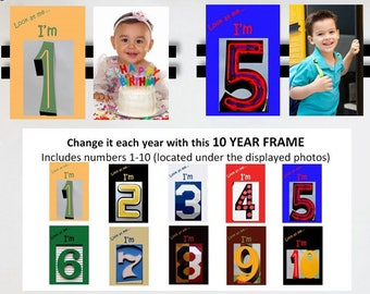 Ten Year Frame for Kids