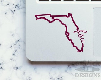 Florida State University Seminoles FSU Vinyl Decal