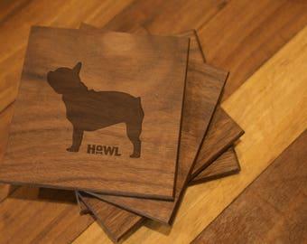 French Bulldog Coaster Set
