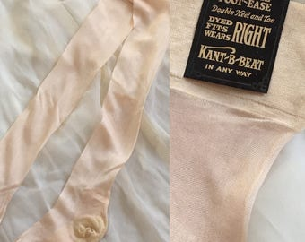 Vintage 1920's Silk Stockings -New with Tags