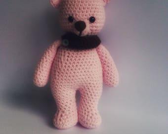 Teddy bear, pink
