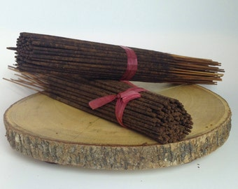 INCENSES Sticks 85 - 100 pcs. Freshly hand dipped Quality Fragance Oil, FREE SHIPPING Buy 3 get 1 Free