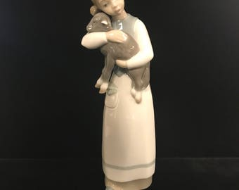 Lladro Figurine Girl