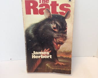 Vintage The Rats Horror Book - Paperback