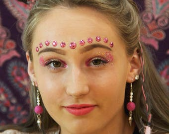 Pink Pom Pom Ice Cream Earrings