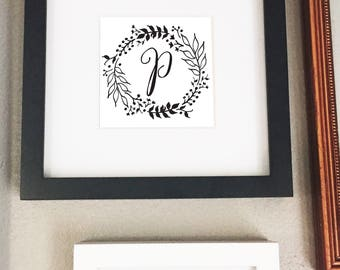Personalized Letter Print