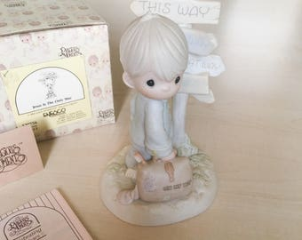 Vintage Precious Moments Jesus Is The Only Way Figurine 520756