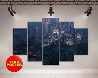X-wing, Star wars, Star Wars print, X-wing print, X-wing poster, Star wars X-wing, Kids room print, Star wars wall art, Kids room decor