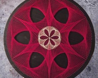 Sacred Geometry String Art