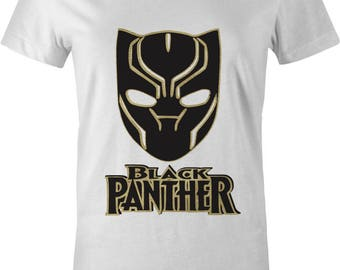 BLACK PANTHER SHIRTS|womens|black|gold|queen|diva|gift|movie|clothing|ladies shirt|squad shirt|fun|party