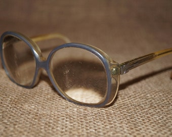 Soviet glasses Glasses ussr Retro Eye glasses Old glasses Round glasses Antique eyeglasses Spectacles Retro glasses For him USSR