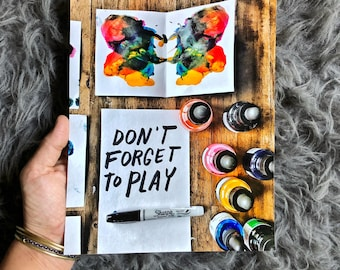 Don't Forget to Play Print