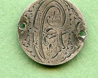 """Love Token  Canada Silver Dime  """"BH or HB"""" Unique Antique Coin <> #DO-37"""